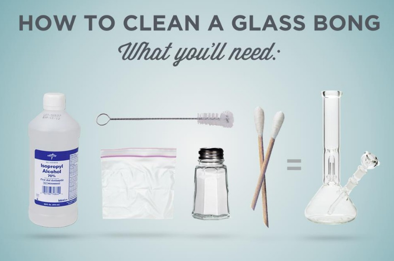 Cleaning Your Dirty Bong