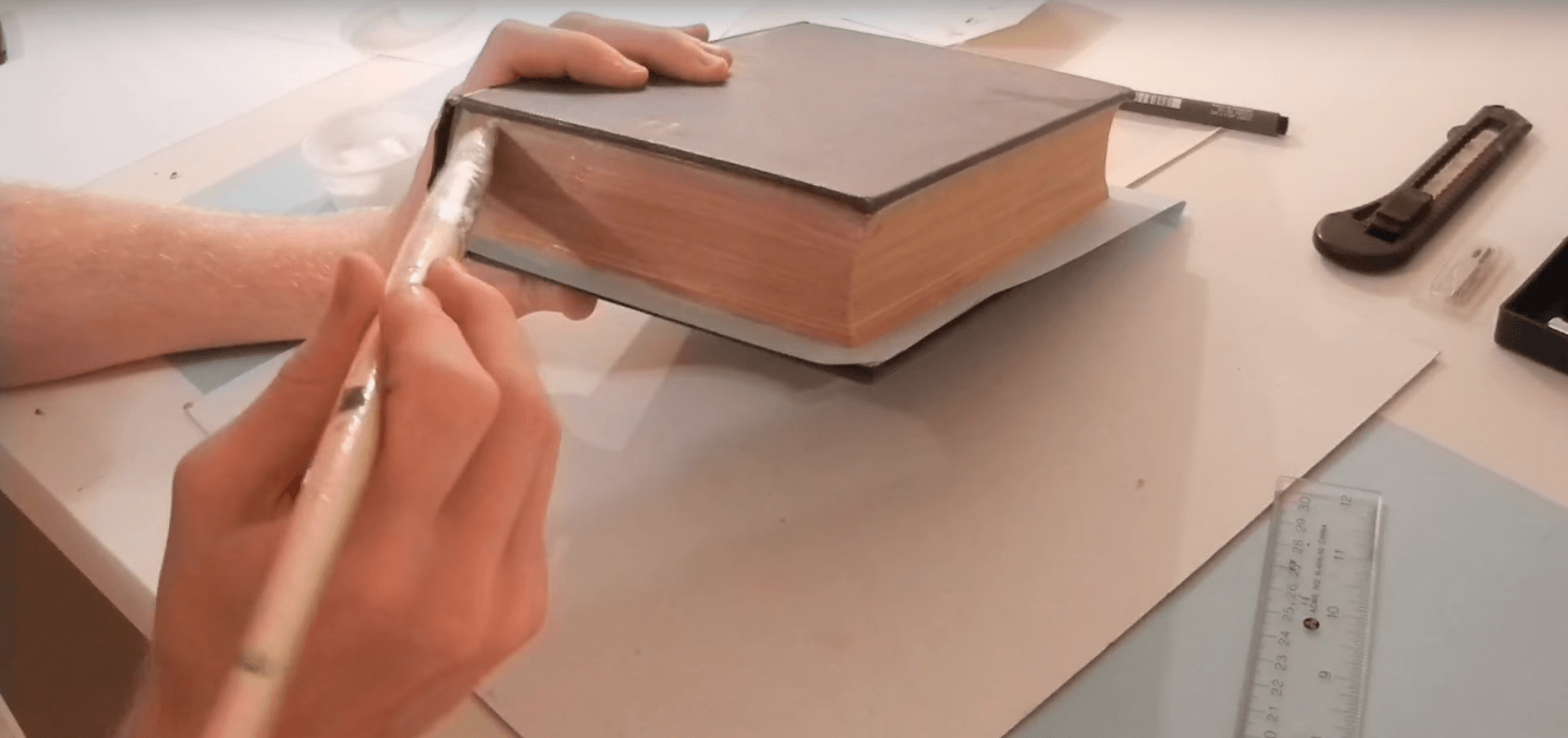 Step 1 - How To Make a Book Stash Box