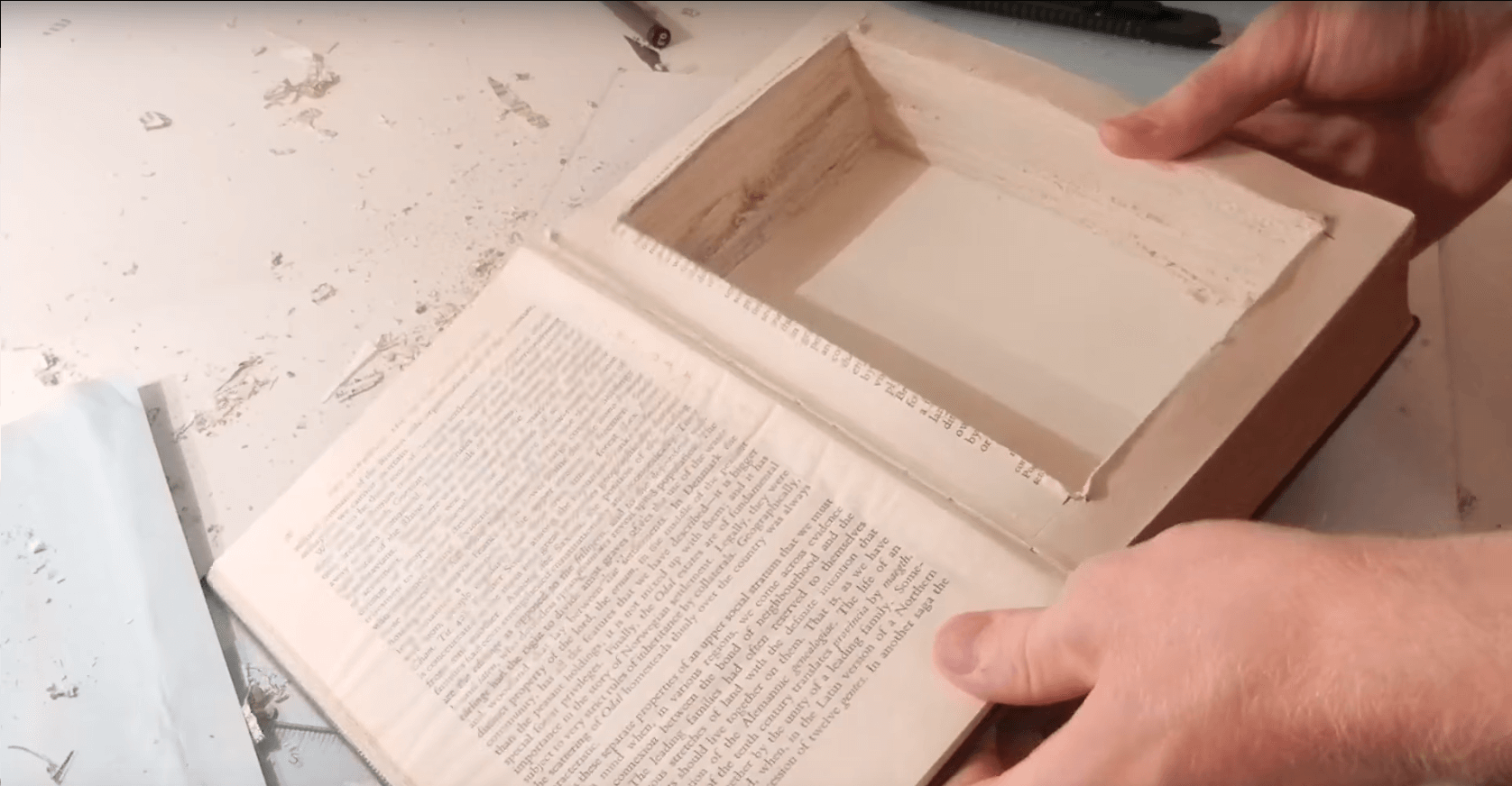 Step 3.5 - How To Make a Book Stash Box