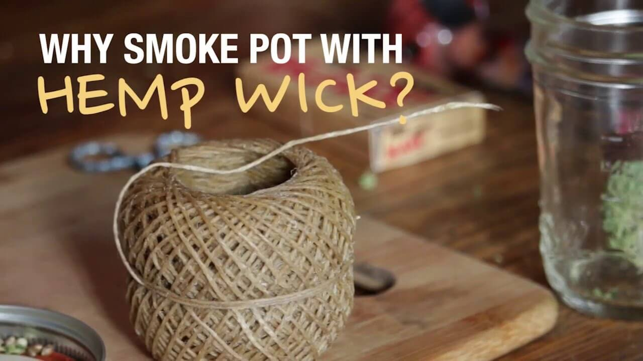 Use hemp wick