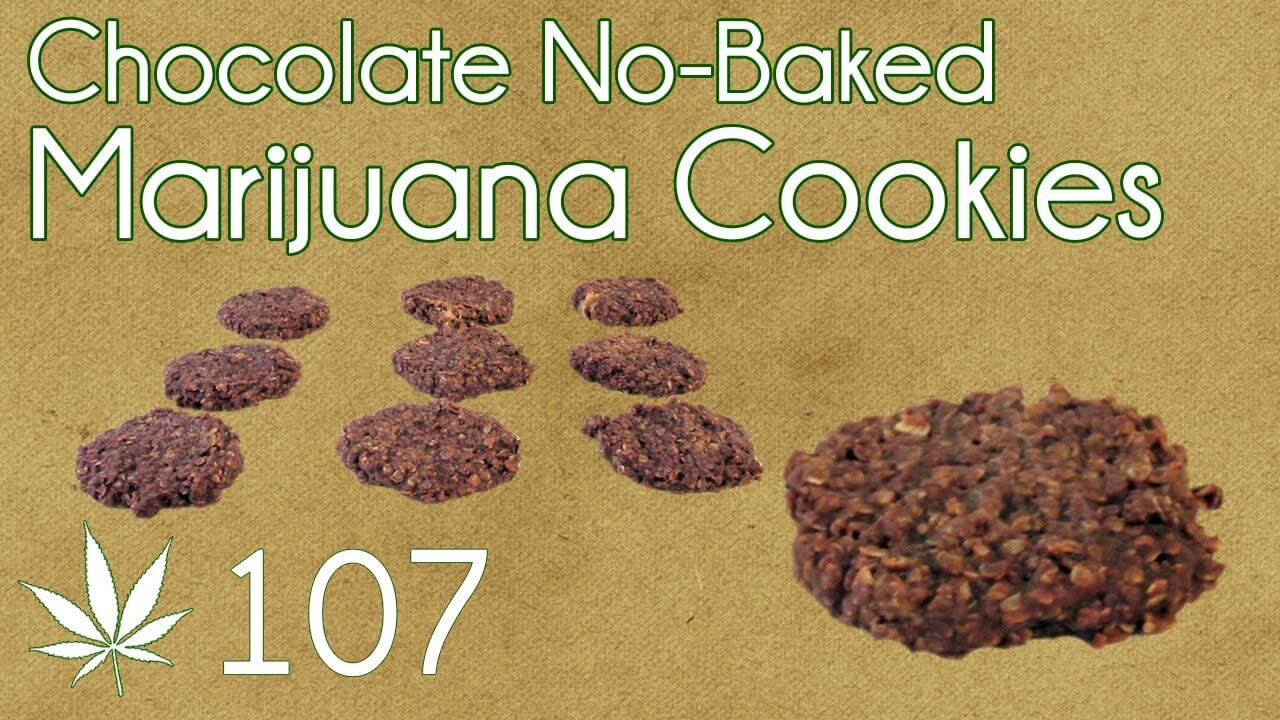 no bake cannabis cookies recipe
